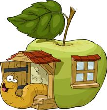 In meinem kleinen Apfel...