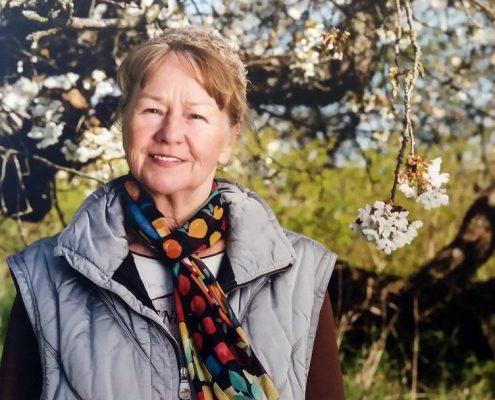 Doris Teutenberg bewirtschaftet den Bio-Obsthof