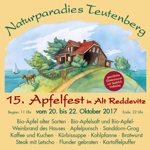 15. Apfelfest in Reddevitz