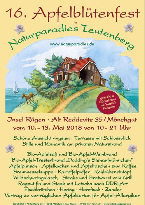 16. Apfelblütenfest in Reddevitz