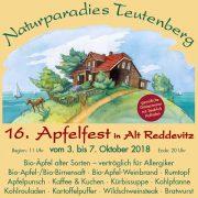 16. Apfelfest im Oktober 2018