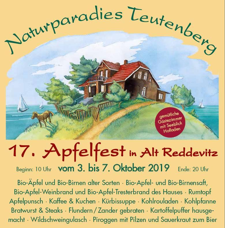 17. Apfelfest im Oktober 2019